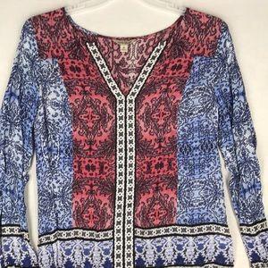 Lucky Brand long sleeve top size medium EUC